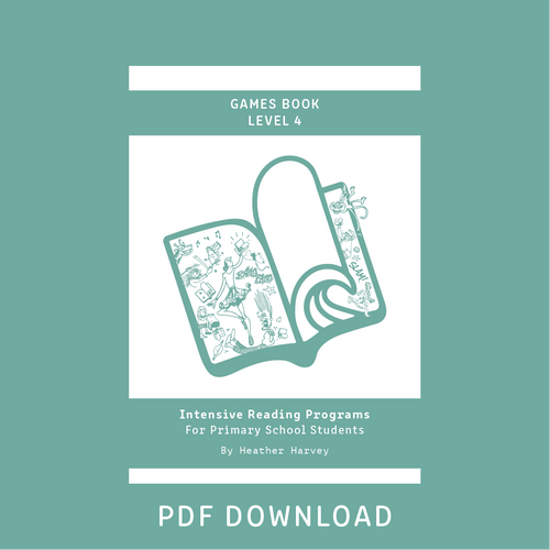 Digital - Primary Games Book Level 4 - Reading Age  9.0 - 10.6