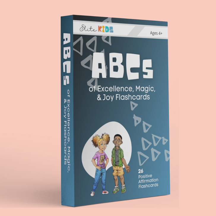ABCs of Excellence Magic and Joy Affirmation Flashcards for kids