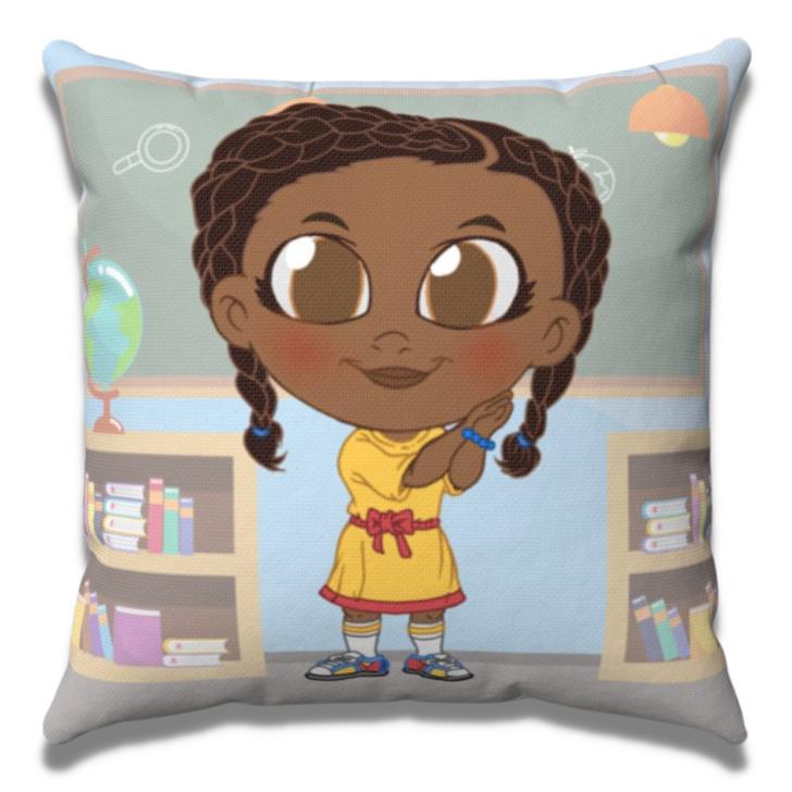 Aria-Marie Tot Throw Pillow