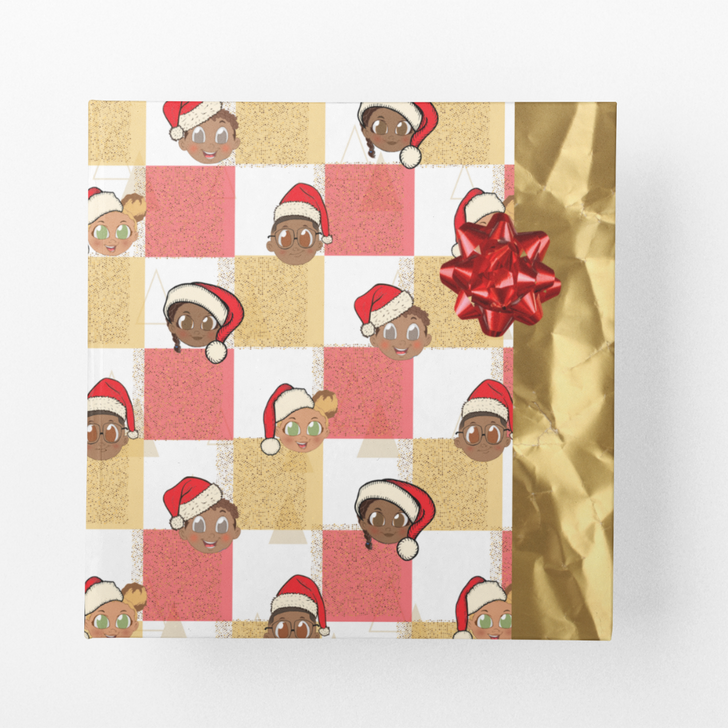 Christmas wrapping paper Merry Christmas from the Elite Kids Crew