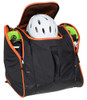 ski boot and gear bag