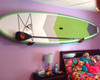 wood home wall rack decoration sup and paddleboard