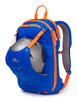 snowboard helmet and gear backpack