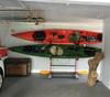 garage floor stand for kayaks