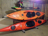2 kayak storage rack sit-in