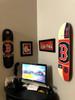 Skateboard Deck Display | Floating Mount