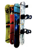snowboard wall storage rack