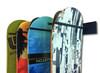 snowboard storage metal rack