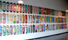 wall art with skateboards