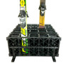 vertical ski storage stand