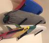 Surfboard Wall Rack | Triple Wood Surf Rack | Scorpion Basics