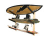 triple wakeboard wall rack