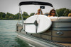 paddleboard rack for pontoon boat railing