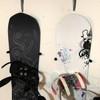 vertical hanger for snowboards