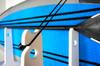 outdoor locking SUP rack