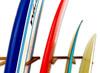Vertical Surfboard  Wall Rack   Solid Oak Wood   6 Surfboard Storage