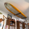 metal surfboard ceiling rack