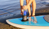 Water bottle holder for stand up paddleboard