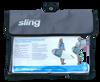 Surfboard transport shoulder bag