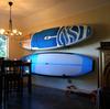 Paddle board display rack