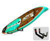 paddleboard wall mount display storage rack