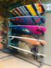 surfboard storage rack stand floor garage