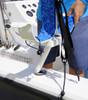 fishing boat paddleboard rack