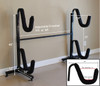 Kayak and SUP Freestanding Storage Rack