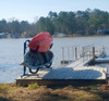 dock rack for paddleboards and kayaks