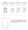 snowboard backpack size chart