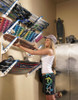 wall rack for wakeboards