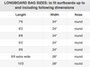 longboard bag dimensions