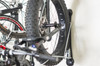 home bike rack for bikes with fattires