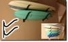 premium double surf rack