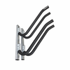 Outdoor Double Surfboard Wall Rack | Galvanized Rust Protection