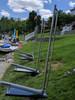 lakeside stainless steel kayak rack