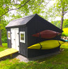 outdoor kayak storage for shed
