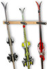 vertical ski and snowboard storage rack