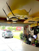 Home ceiling roof rack for kayak