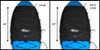 cockpit drape cover dimensions for storage