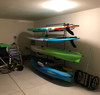 kayak and paddleboard storage stand