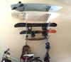 surfboard snowboard and skateboard home storage rack