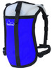 blue minimalist hydration pack