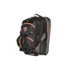 orange pull handle padded ski boot bag