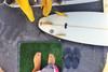 wetsuit change mat for parking lot