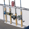 fishing rack for pontoon boats