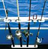 best pontoon boat fishing rack