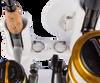 universal fit fishing rod holder tubes suction mount