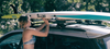 strap in car roof rack for paddleboards