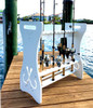 fishing shop retail display stand 24 rods